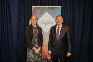 Jodie Currie and Ian Macfarlane launch 2020 Queensland Mining Awards